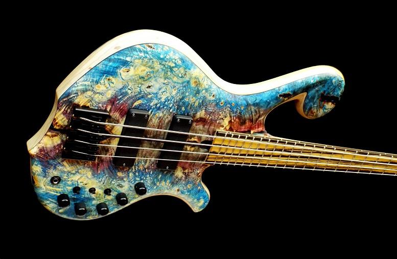 custom bass guitar