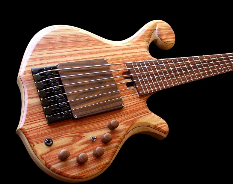 Custom bass guitar